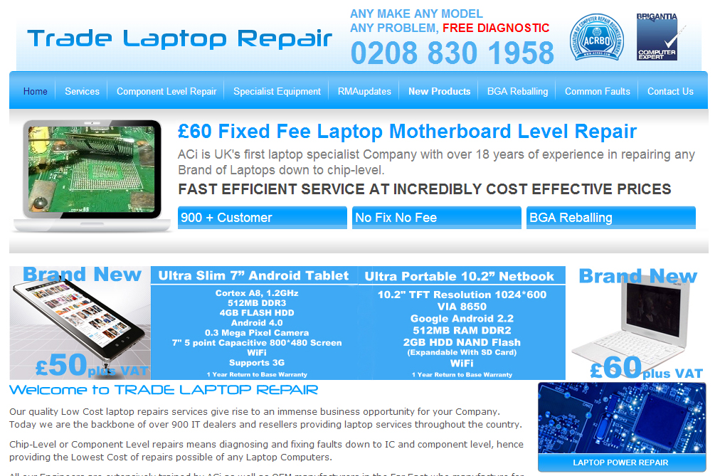 Trade Laptop Repair