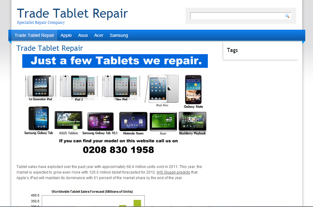 Trade Tablet Repair
